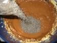 dolce cioccolata semi di papavero mele