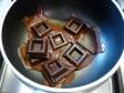 decori e scritte di cioccolata