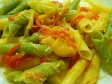 garganelli paglia e fieno ai peperoni