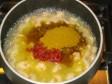 lasagne con gamberetti e curry