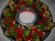 corona di melanzane e cous cous