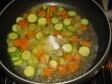 plum cake con arcobaleno di verdure