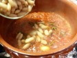 salsicce con i fagioli all'uccelletto