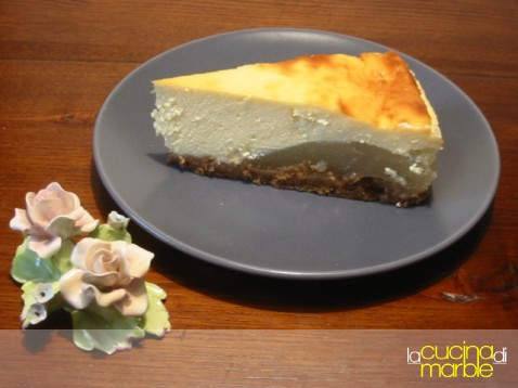 cheese cake alle pere