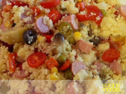 cous cous in insalata