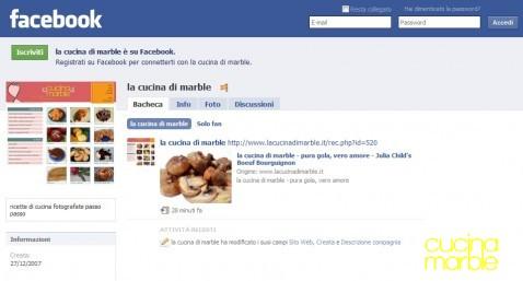 la cucina di marble su facebook