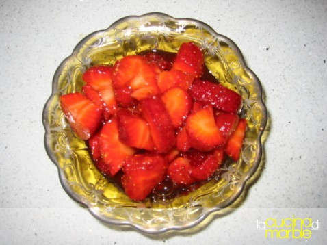 fragole all'aceto balsamico
