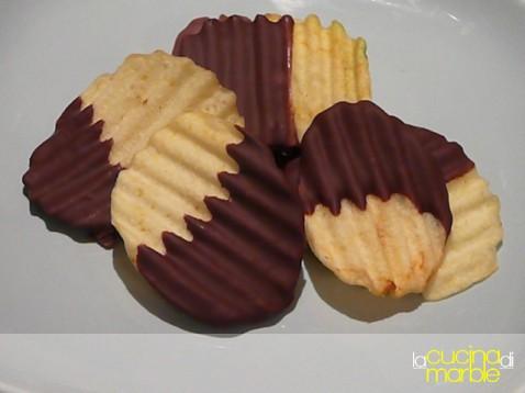 chips al cioccolato