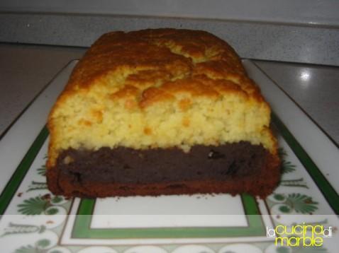 plum cake di cioccolata e miglio