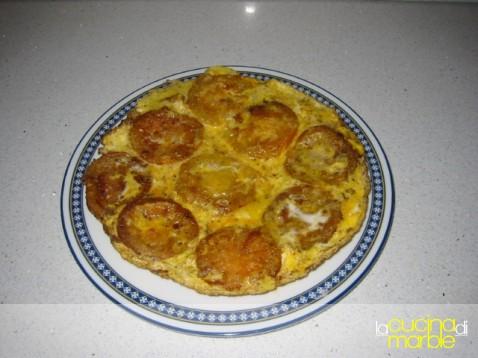 tortino di pomodori verdi