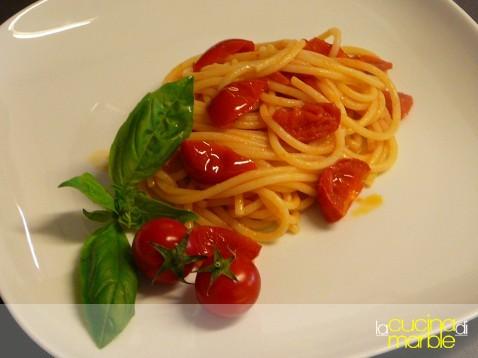 pasta con pomodorini di Carlotta