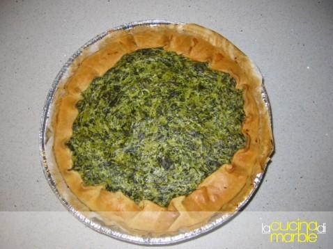 torta di spinaci e ricotta