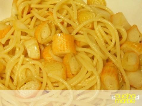 pasta con il surimi