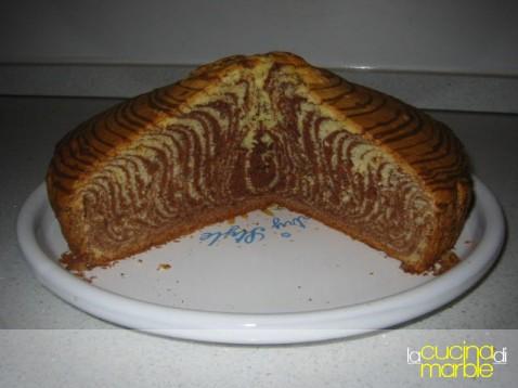 torta bicolore - zebra