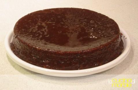 torta al cacao e vino