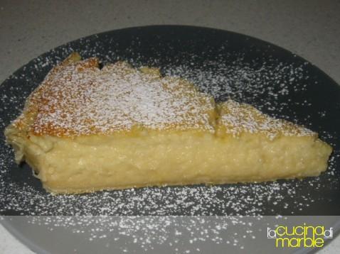 torta dolce con pecorino